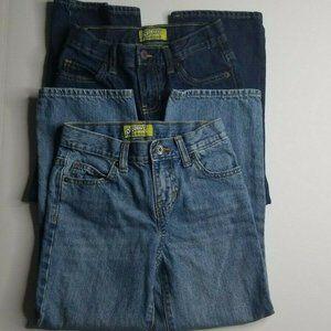 2 Old Navy Boys Blue Jeans Size 7 Basic